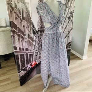 Hollister maxi with side cutouts